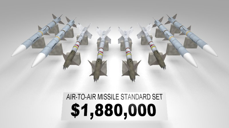 AIR-TO-AIR MISSILE STANDARD SET