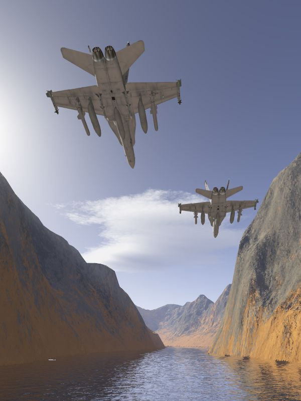 Hornets into Canyon